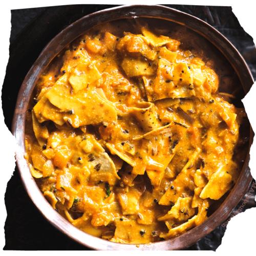 दही पापड़ की सब्जी │dahi papad sabji